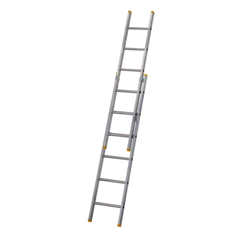Werner 72218 Double Box Section Extension Ladder 2 x 1.85 Metres (2.95m)