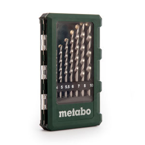 Metabo 6.26706 Masonry Drill Bits in Case 8 Pieces