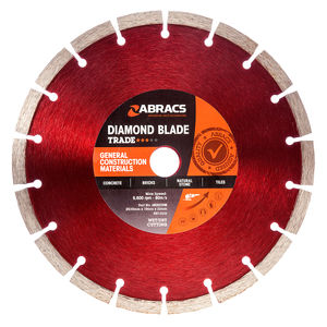 Abracs ABDD230M Diamond Blade General Purpose 230 x 10 x 22mm