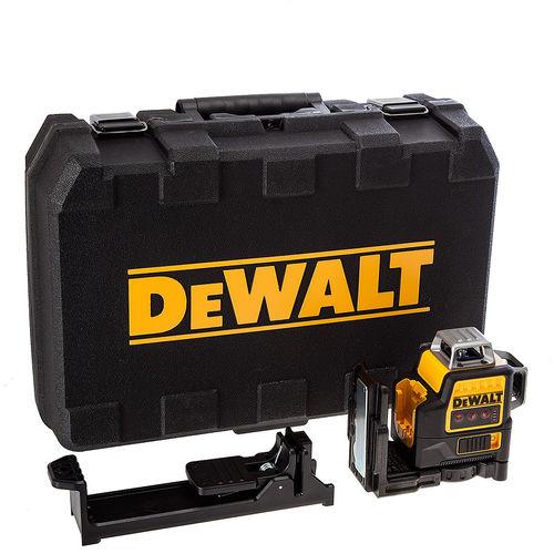 Dewalt DCE089NR 10.8V Red 360 Degree Multi Line Laser - (Body Only)