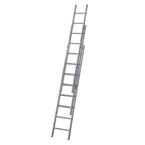 Werner 72324 Triple Box Section Extension Ladder 3 x 2.4 Metres (5.17m)