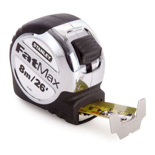 Stanley 5-33-891 Tape Measure FatMax Xtreme 8m / 26ft - Metric / Imperial with 32mm blade