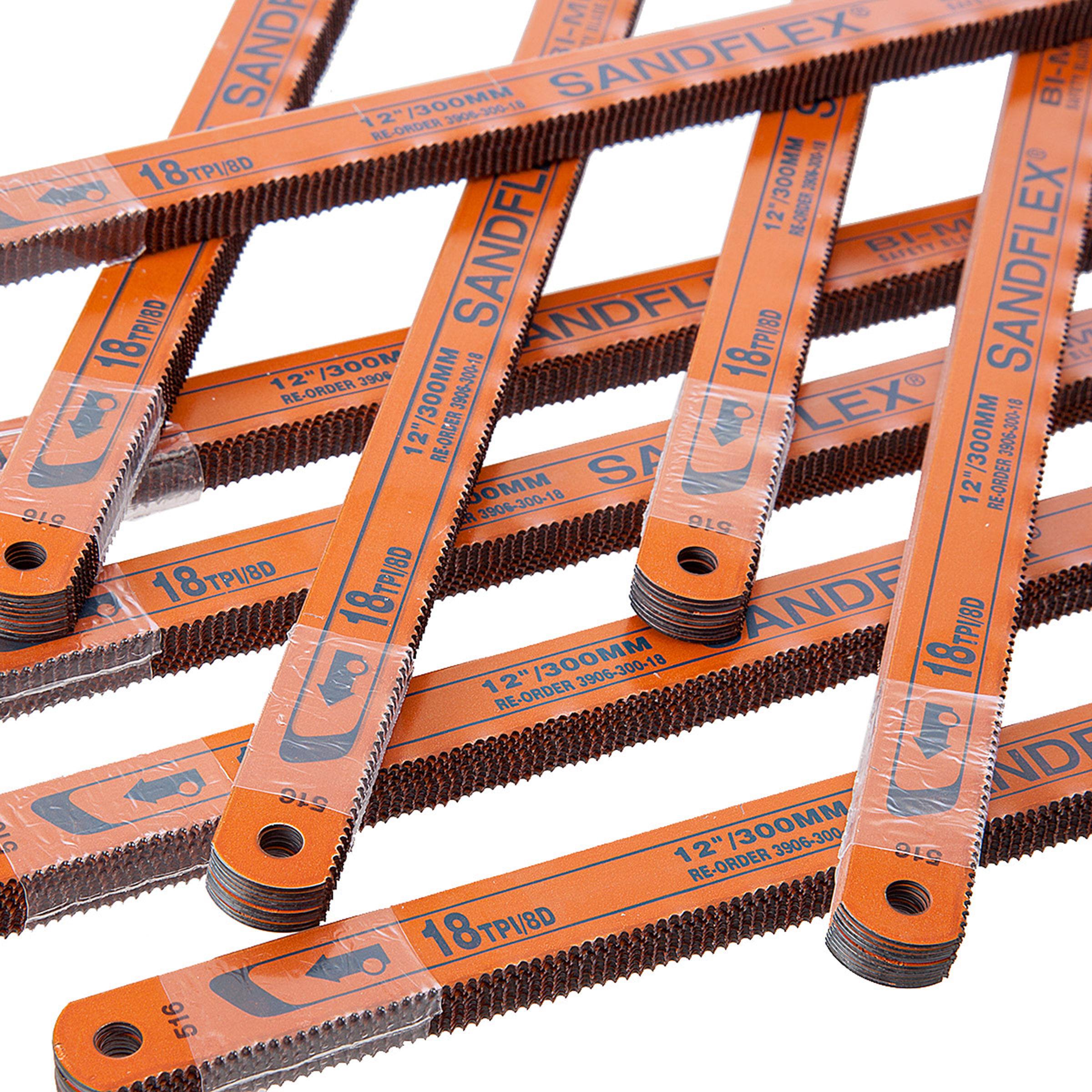 Toolstop Bahco 3906 Bi-Metal Hacksaw Blades 12 Inch x ...