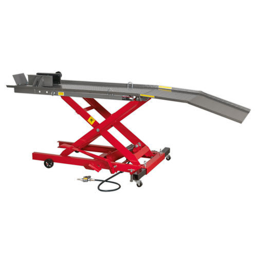 Sealey MC365A Motorcycle Lift 365kg Capacity Air/hydraulic