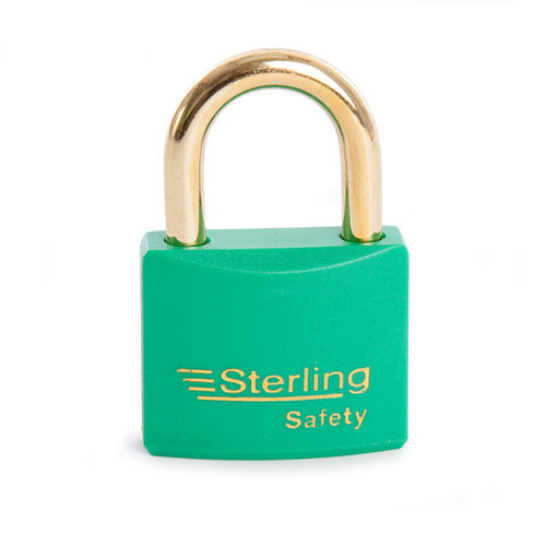 Sterling BL4G Safety Lockout Padlocks 40mm Double Locking KA3 Green