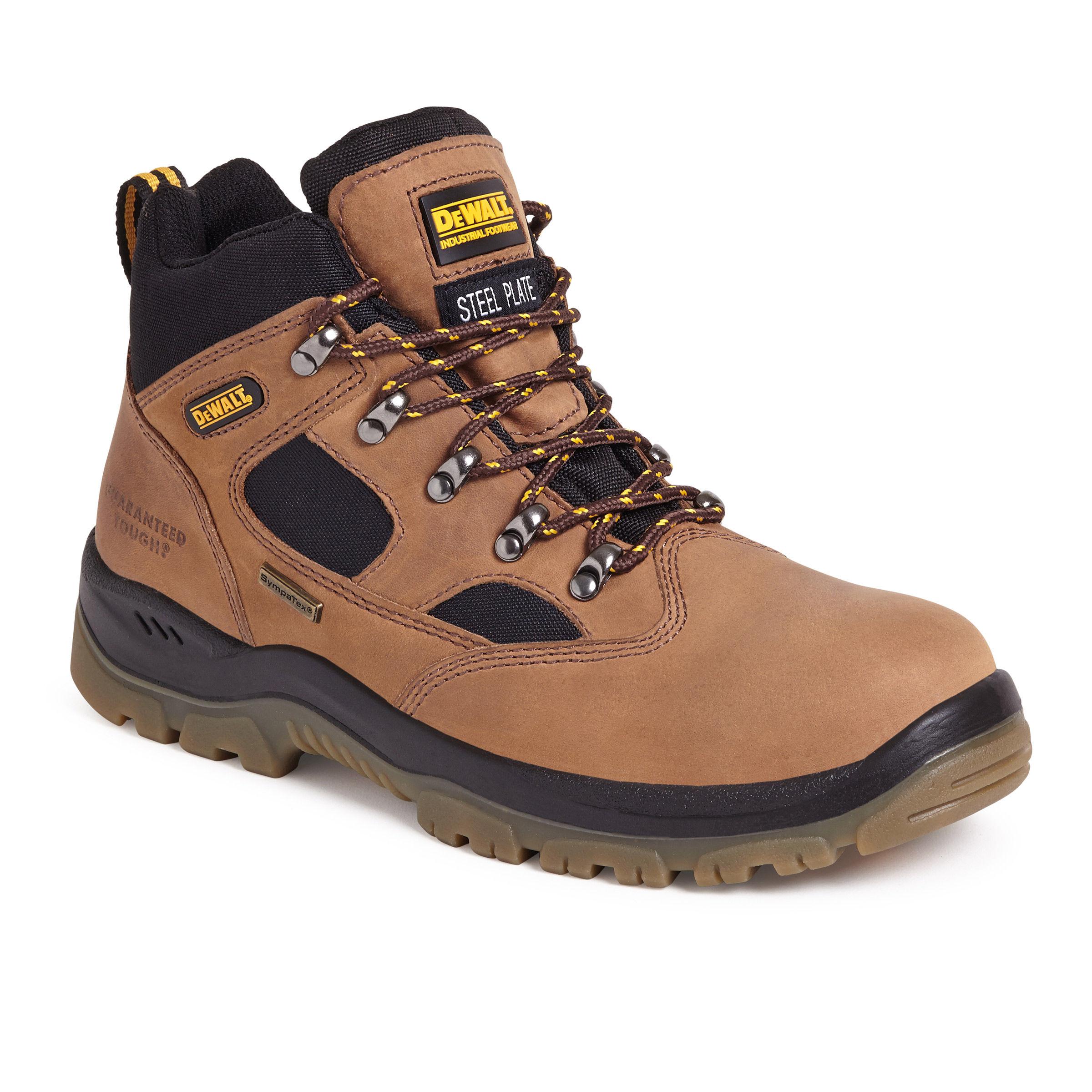 17bd8ced42d Dewalt Challenger 3 Waterproof Sympatex Safety Hiker Boot in Brown - Size 6