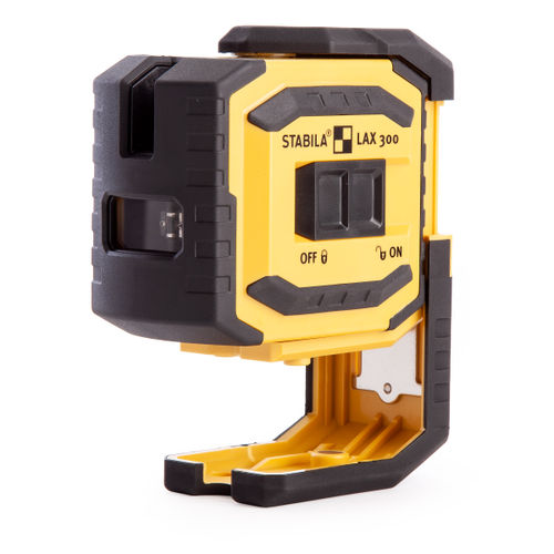 Stabila LAX300 Cross Line + Plumb Point Laser (18327)