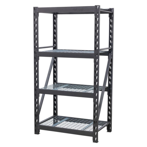 Sealey AP6372 Heavy-duty Racking Unit With 4 Mesh Shelves 640kg Capacity Per Level 978mm