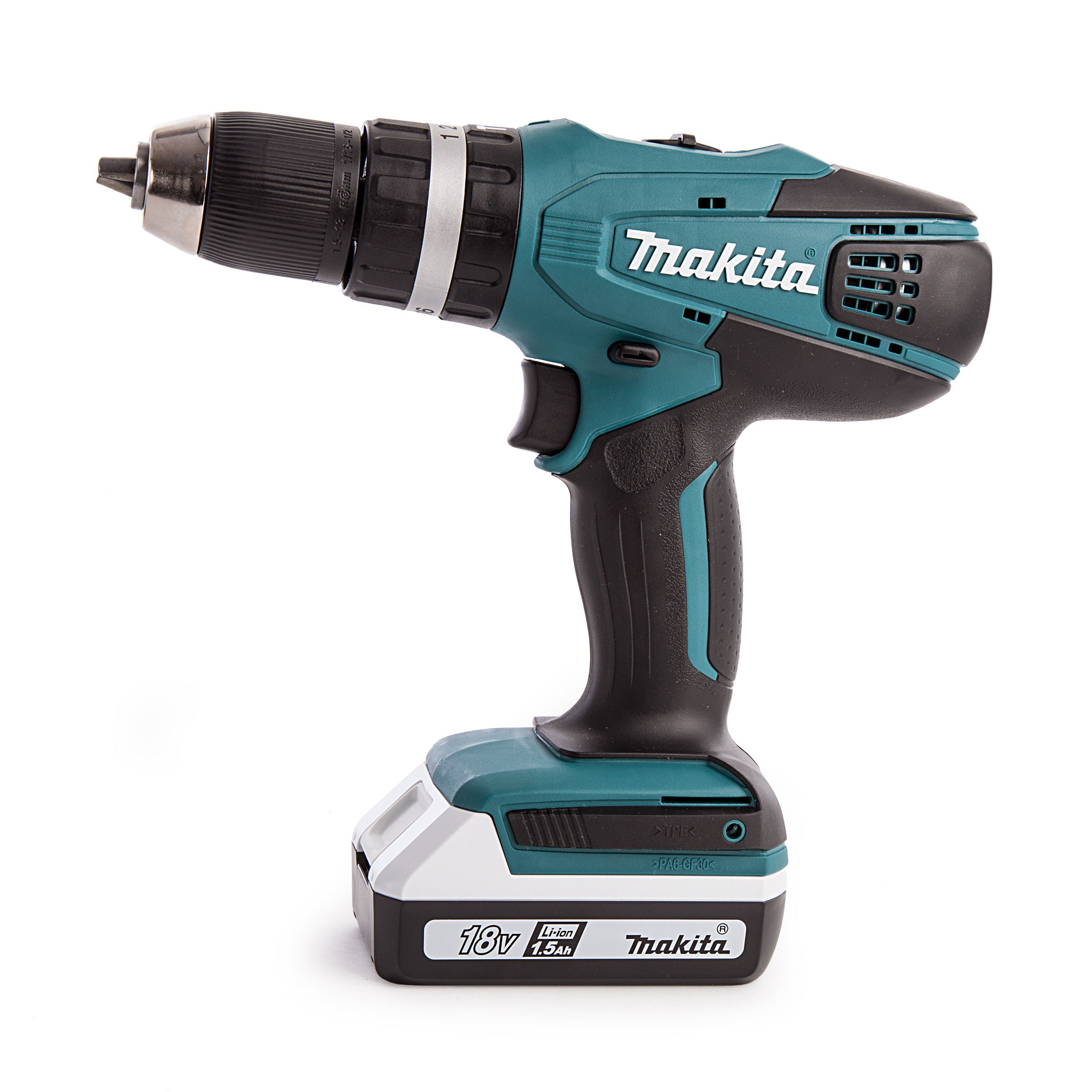 Makita DK18015X1 G-Series 18v Combi Drill & Impact Driver Twin Kit Power Tools Power Tool Sets