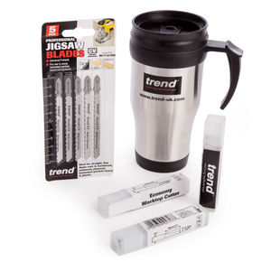 Trend Worktop Fitting Pack with Mug