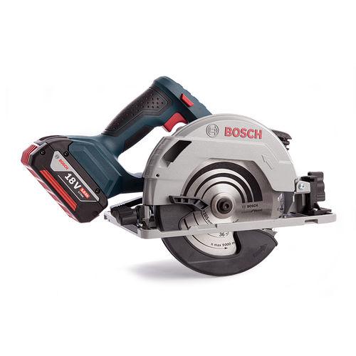 Bosch GKS18V57G Professional Cordless Circular Saw (3 x 5.0Ah Batteries)