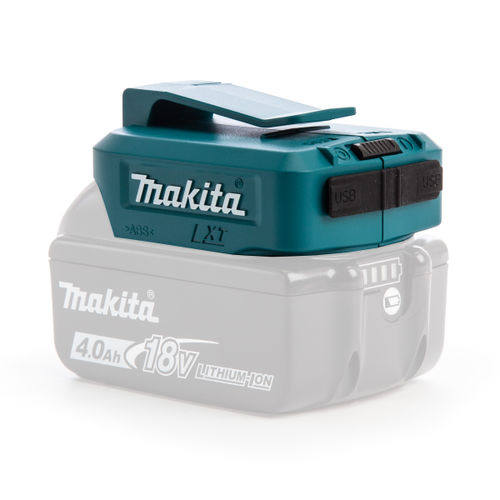 Makita ADP05 Li-ion USB Adapter 14.4V - 18V