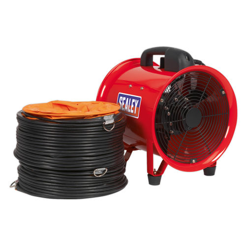 Sealey VEN250 Portable Ventilator ∅250mm With 5mtr Ducting