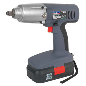 "Sealey CP2600 Cordless Lithium-ion Impact Wrench 26v 1/2""sq Drive 335lb.ft"