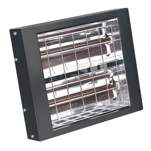 Sealey IWMH3000 Infrared Quartz Heater - Wall Mounting 3000w/240v