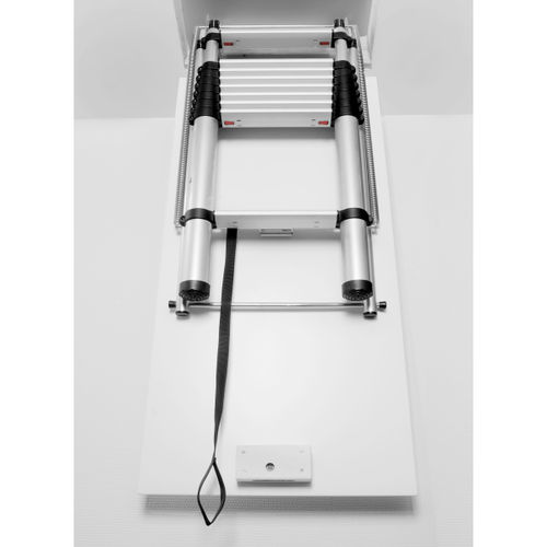 "Telesteps 60927 Loft Line ""Maxi"" Telescopic Loft Ladder (2.52 - 3.00m Ceiling Height)"