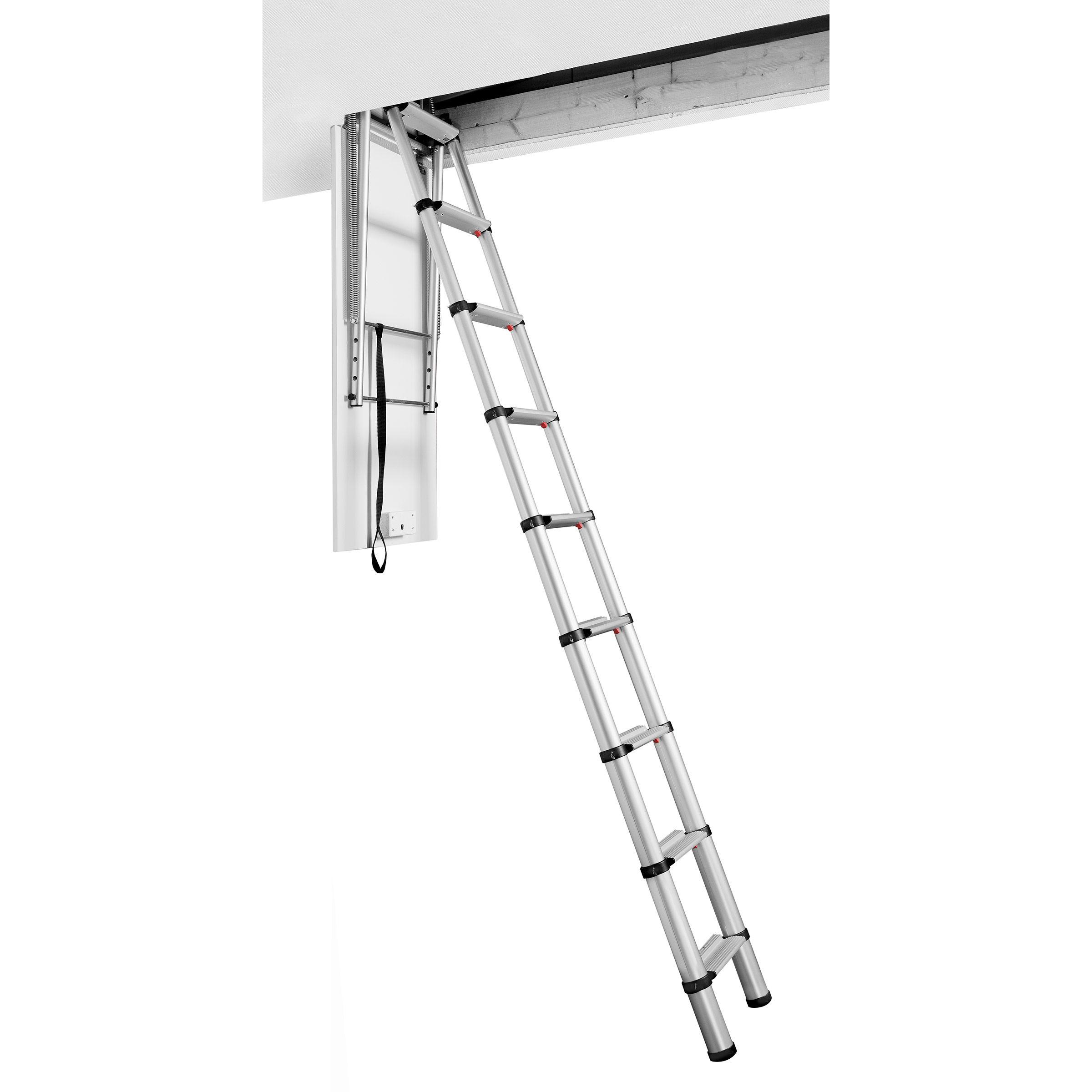 Toolstop Telesteps 60927 Loft Line Quot Maxi Quot Telescopic Loft