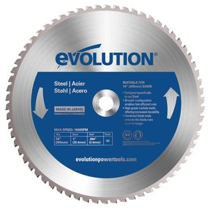 Evolution TCT Saw Blade for Steel 14 Inch / 355mm - 66 Teeth