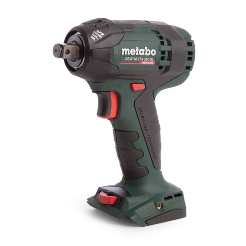 Metabo SSW 18 LTX 300 BL 18V Impact Wrench (Body Only)