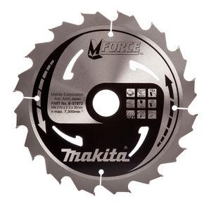 Makita B-07973 M Force Circular Saw Blade 210 x 30mm 16 Tooth