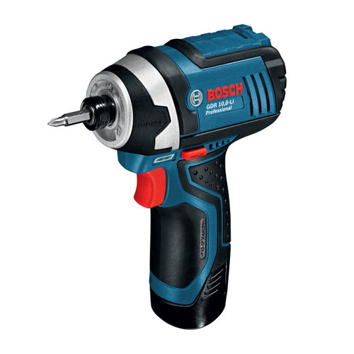 Bosch GDR 12V-105 Professional Heavy Duty Impact Driver (2 x 2.0Ah Batteries)