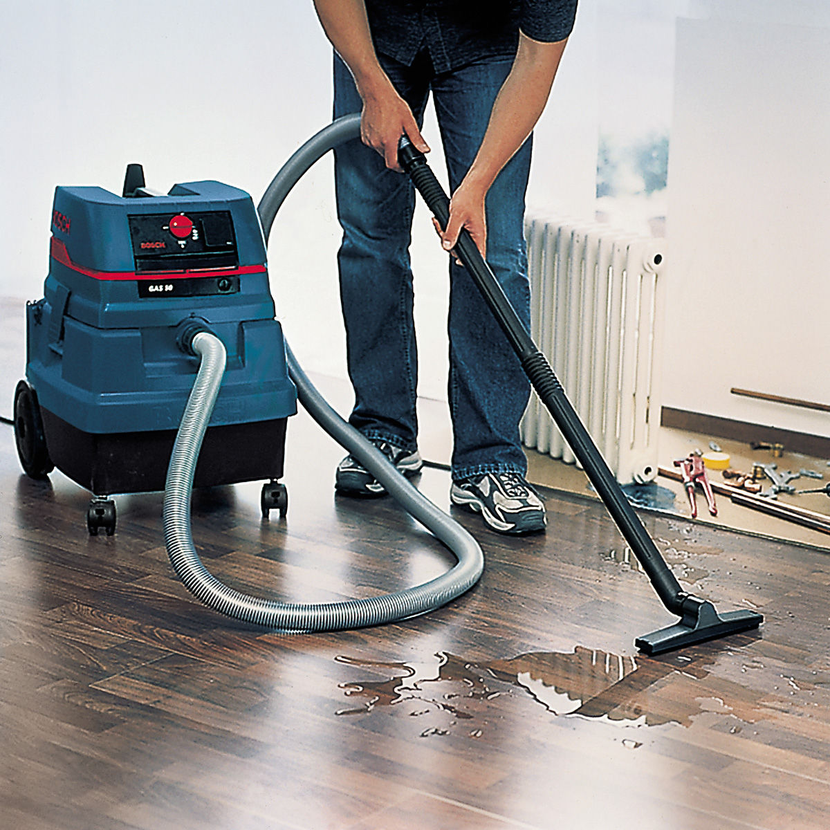 Bosch Universal Turbo Brush: Toolstop Bosch GAS50 Wet And Dry Universal Dust Extractor