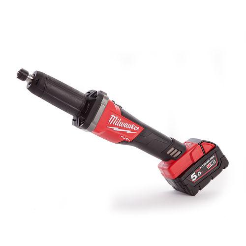 Milwaukee 4933459108 M18FDG-502X Fuel Die Grinder with (2 x 5.0Ah Batteries)