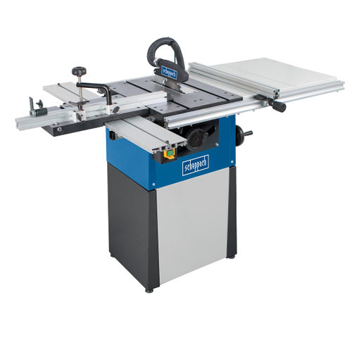 Scheppach Precisa TS82 8 Inch Saw Table with Sliding Table Carriage, TWE & Base Unit