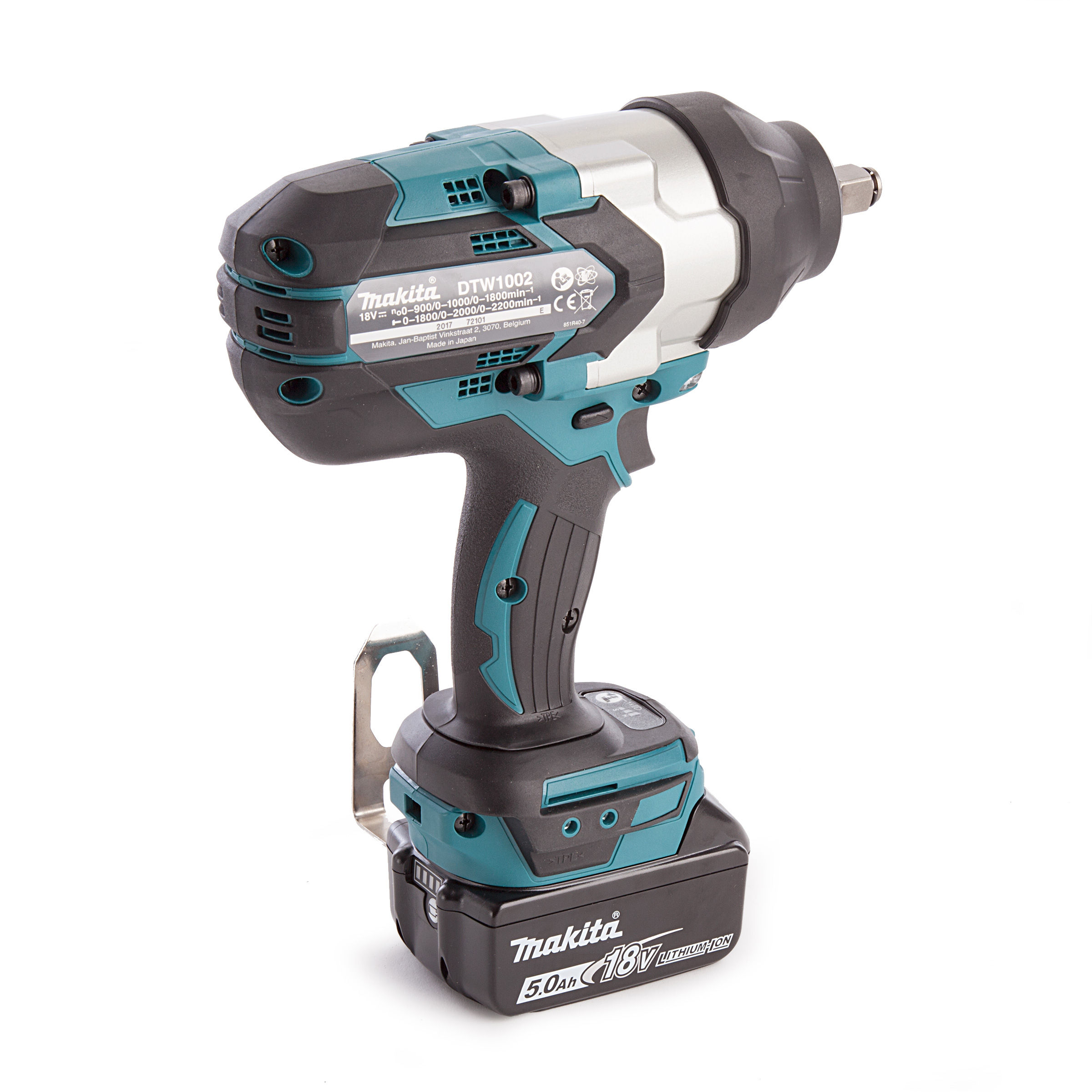 Makita Dtw1002rtj Impact Wrench 18v Brushless Lxt Li Ion 1 2 Inch Square Drive