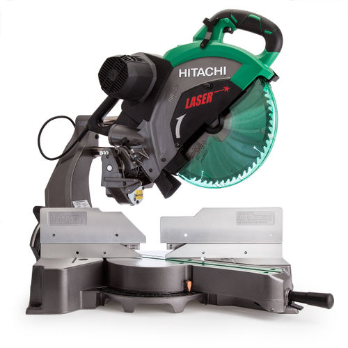 Hitachi C12RSH2 Slide Compound Mitre Saw with Laser Marker 12 inch / 305mm 110V