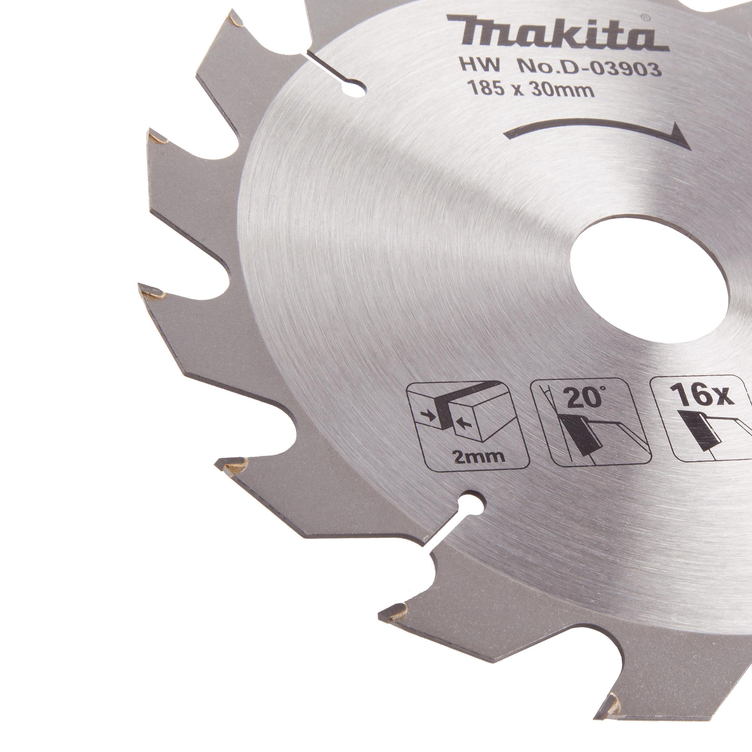 Toolstop makita d 03903 circular saw blade for wood 185 x 30 x 16 teeth makita d 03903 circular saw blade for wood 185 x 30 x 16 teeth greentooth Gallery