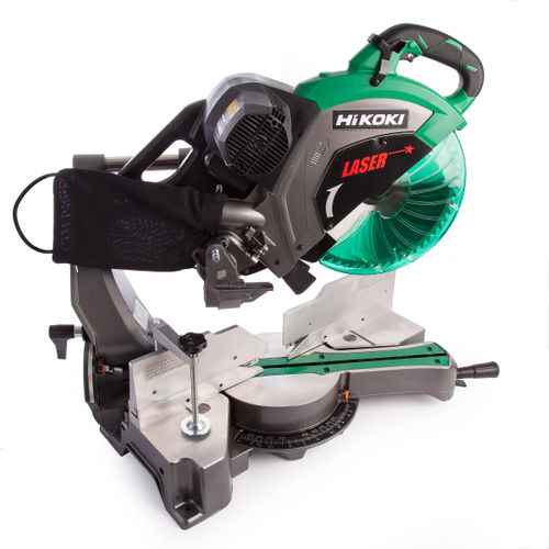 HiKOKI C 12RSH2 Slide Compound Mitre Saw with Laser Marker 305mm / 12 Inch 240V