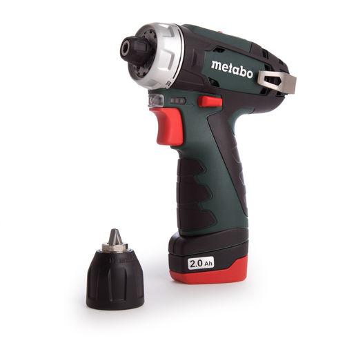 Metabo 600080500 10.8V PowerMaxx BS Drill Driver (2 x 2.0Ah Batteries)