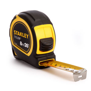 Stanley 1-30-656 8m / 26ft Metric / Imperial Tape Measure with 25mm Blade