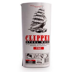 Clipper ABWW0 Steel Wool Fine Grade 450g