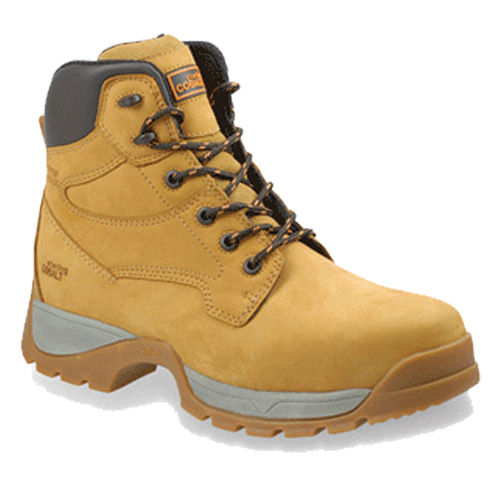 Sterling Safetywear SS900CM Safety Cobalt Waterproof Boot with Composite Midsole and Toecap Brown - Size 5