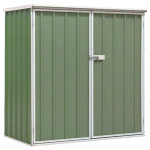 Sealey GSS150815G Galvanized Steel Shed Green 1.5 x 0.8 x 1.5 Metres