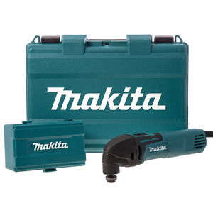 Makita TM3000CX4 Multi-Cutter 320W Oscillating with 56 Accessories
