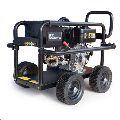 V-TUF TORRENT5 Industrial Diesel Trolley Mounted Pressure Washer 10HP 3000psi