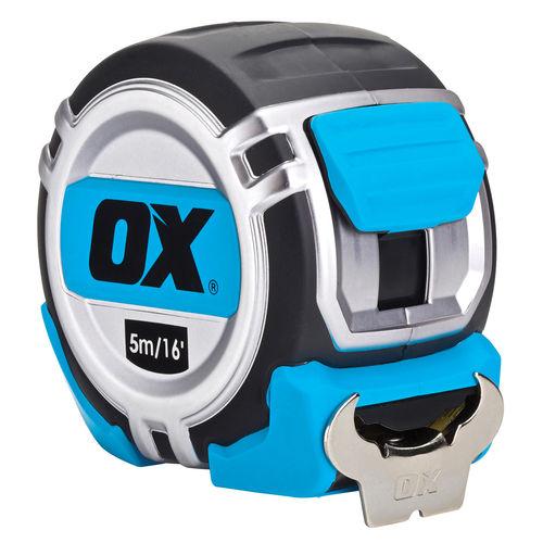 OX P028705 Metric/Imperial Pro Heavy Duty Tape Measure 5m / 16ft