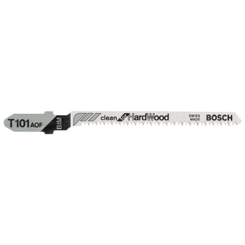 Bosch T101AOF (2608634233) Jigsaw Blades for Hardwood 83mm - 5 Pack