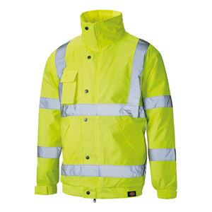 Dickies SA22050 Hi-Vis Bomber Jacket Yellow