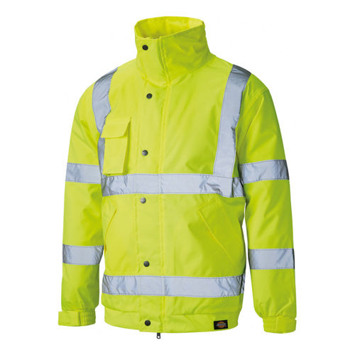 Dickies SA22050 Hi-Vis Bomber Jacket Yellow - XXXLarge