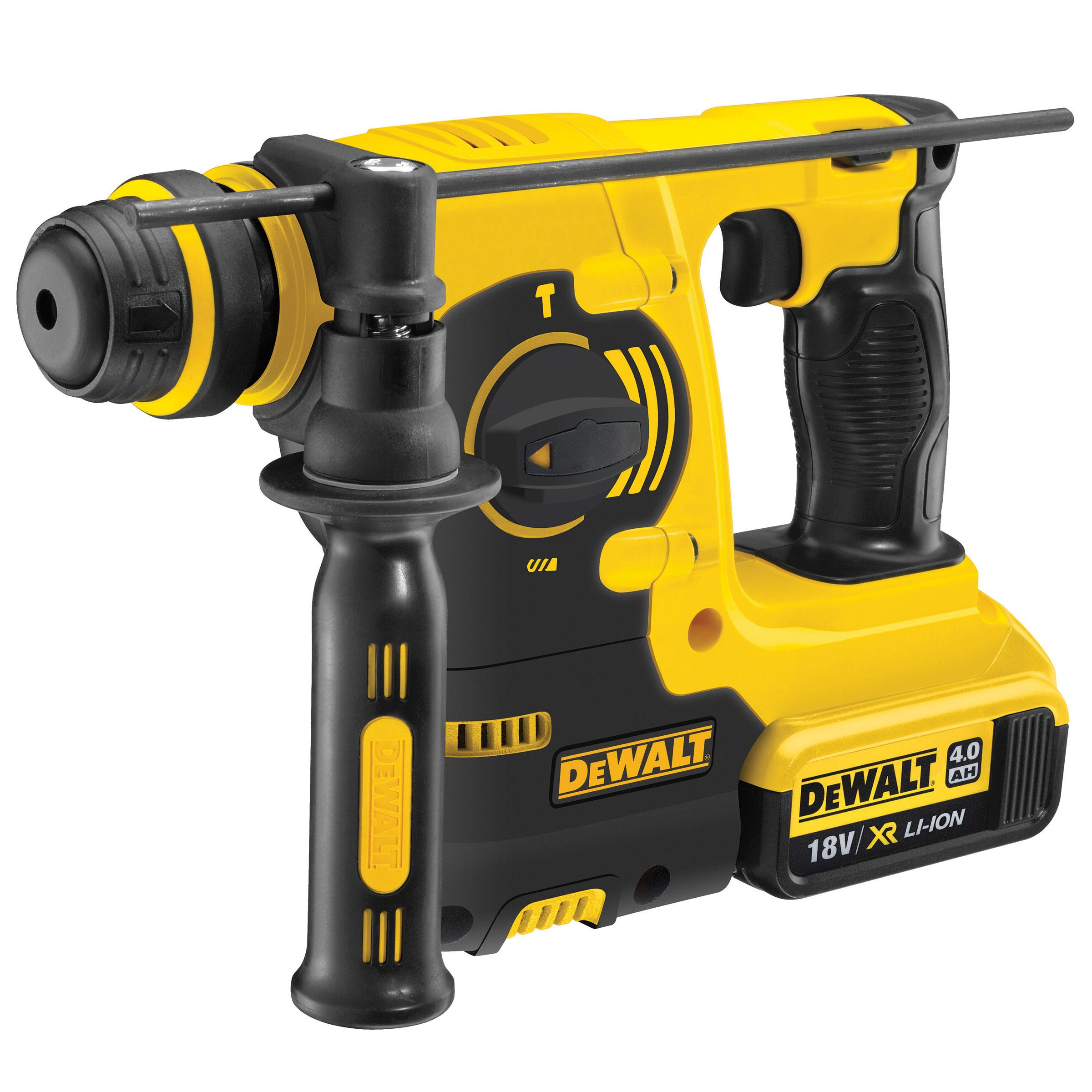 Toolstop Dewalt Dch253m2 18v Xr Li Ion Sds Rotary Hammer