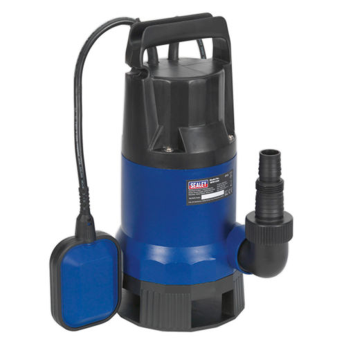 Sealey WPD133A Submersible Dirty Water Pump Automatic 13Ltr/Min 240V