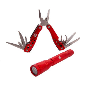 Spear and Jackson SJ1760 Multi Tool and Torch Set