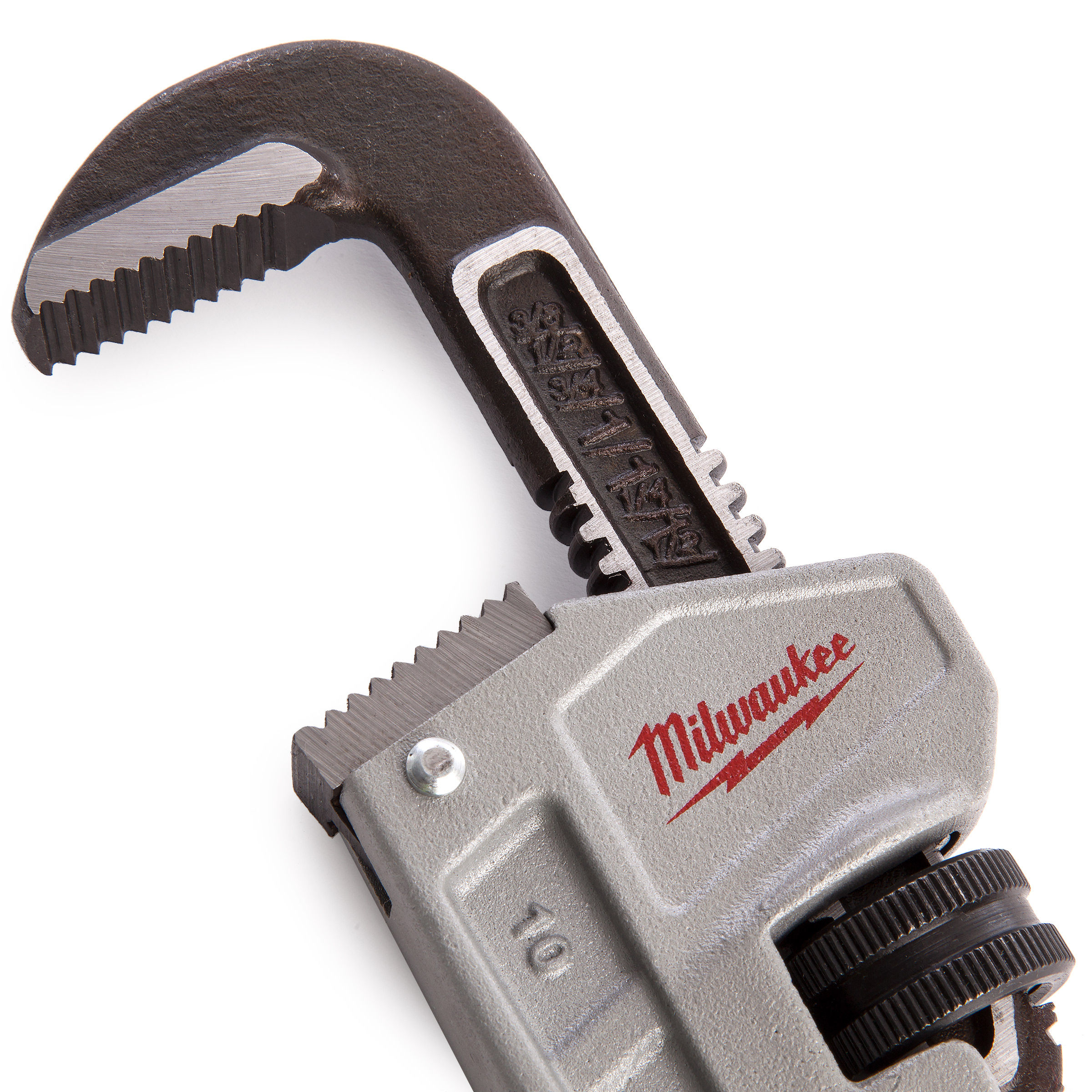 Milwaukee 48227210 Aluminium Pipe Wrench - 10 Inch