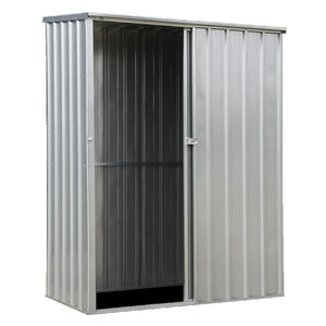 Sealey GSS150819SL Galvanized Steel Shed 1.5 X 0.8 X 1.9mtr Sliding Door