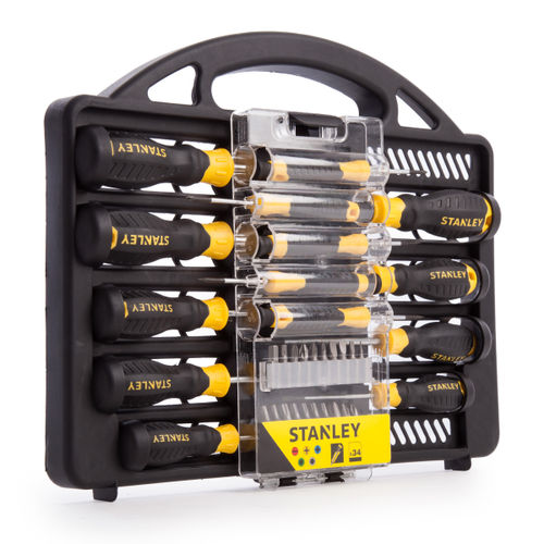 Stanley STHT0-62141 Screwdriver Set with Bits (34 Piece)