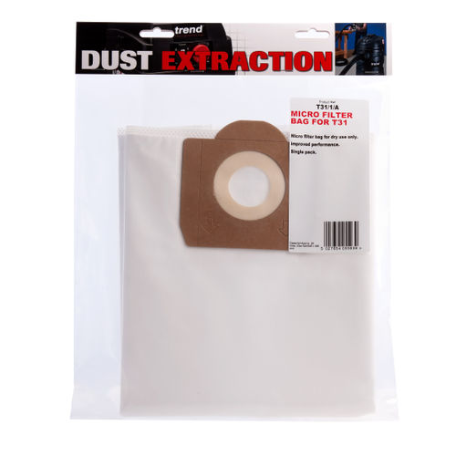 Trend T31/1/A Micro Filter Bag for T31 Dust Extractor